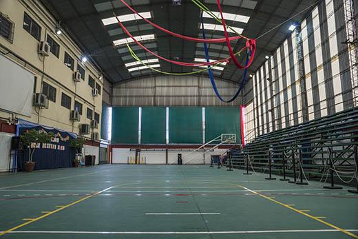 Cancha deportiva Colegio Juan Bautista Alberdi de Castelar