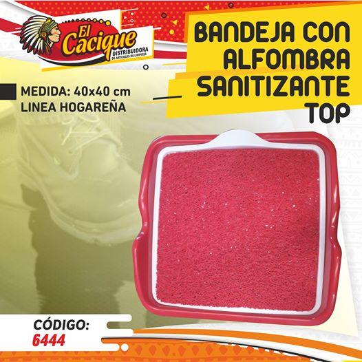 Bandeja sanitizante - El Cacique Limpieza